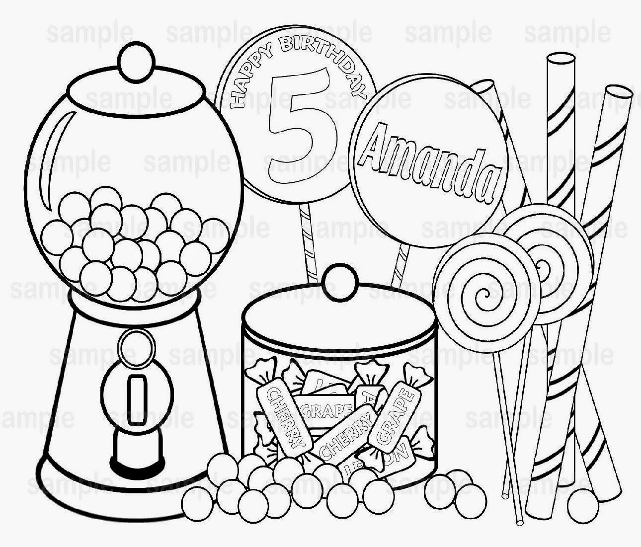 1290x1101 Mampm Candy Coloring Pages