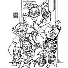 220x220 Spider Candy Coloring Pages