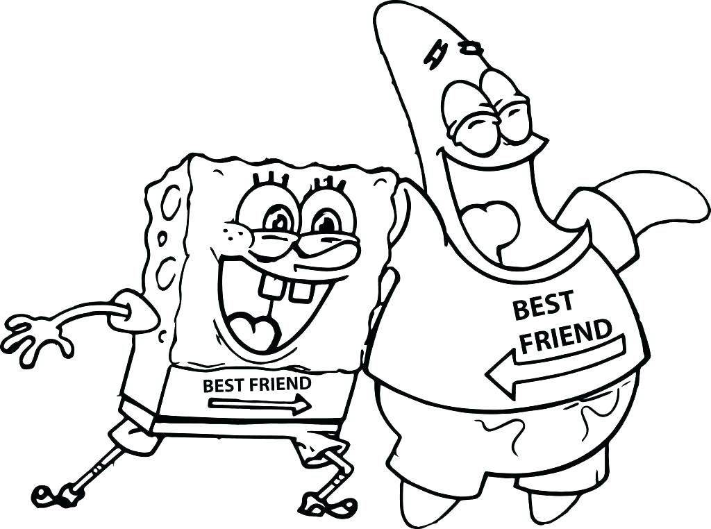 1024x762 Free Halloween Printable Coloring Pages Sponge Bob Coloring Page