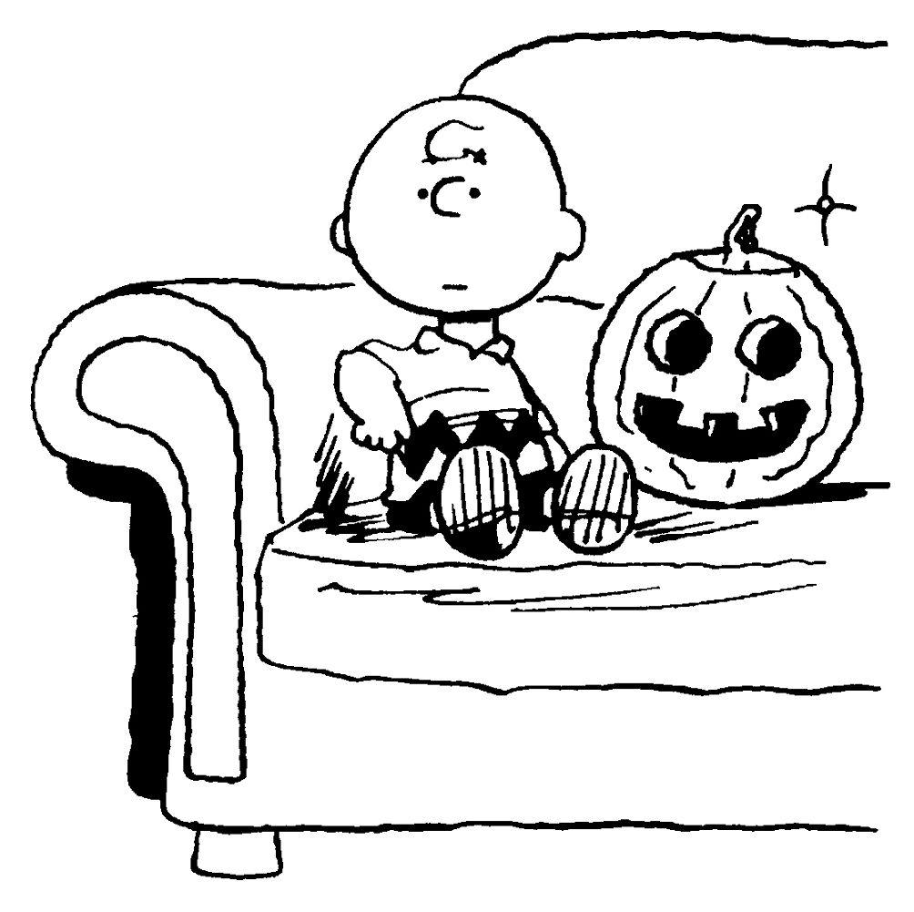 1004x1001 Printable Halloween Coloring Pages Peanuts Halloween Cartoon