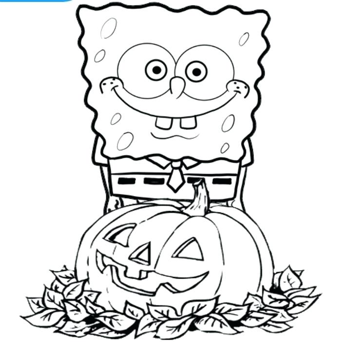 704x701 Cartoon Halloween Coloring Pages Coloring Pages Coloring Page