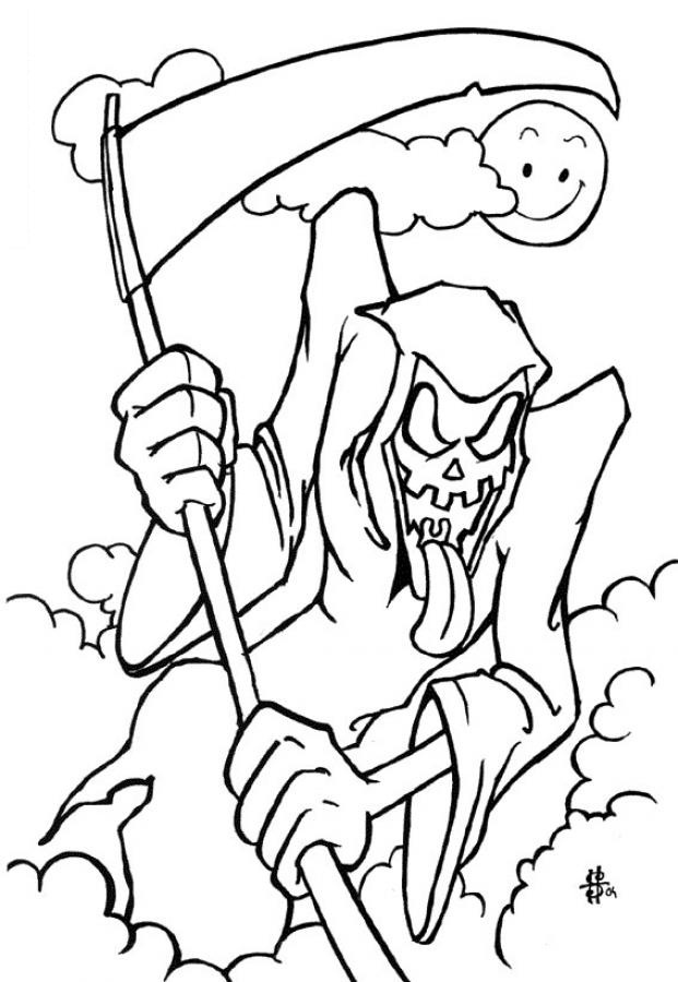 621x900 Free Printable Halloween Coloring Pages For Kids