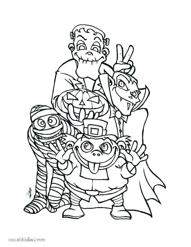 738x954 Halloween Coloring Book Free Coloring Pages Free Coloring Page