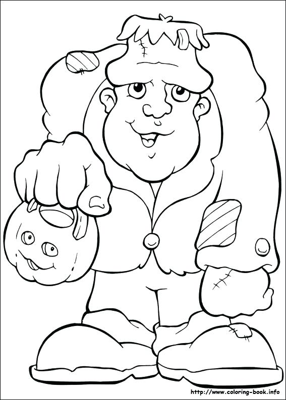 567x794 Halloween Coloring Pages For Toddlers Coloring Picture Free