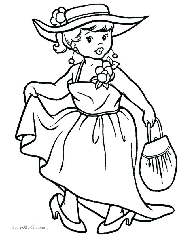 670x820 Vintage Coloring Pages Vintage Coloring Book Pages Vintage
