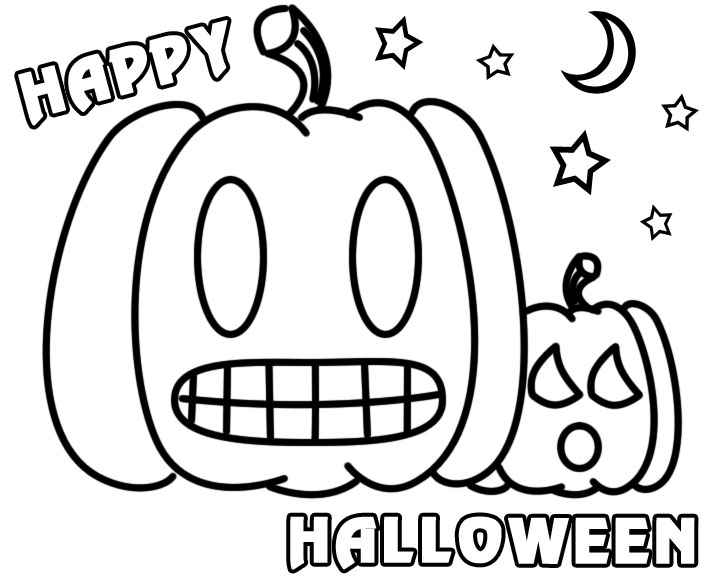720x576 Happy Halloween Coloring Pages Happy Halloween Coloring Pages