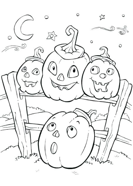 452x628 Halloween Coloring Pages For Toddlers Kindergarten Coloring Pages