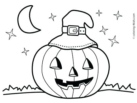 440x330 Halloween Coloring Pages Preschoolers Coloring Pages Kids