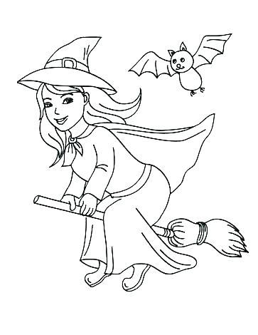 363x470 Kid Halloween Coloring Pages Vanda