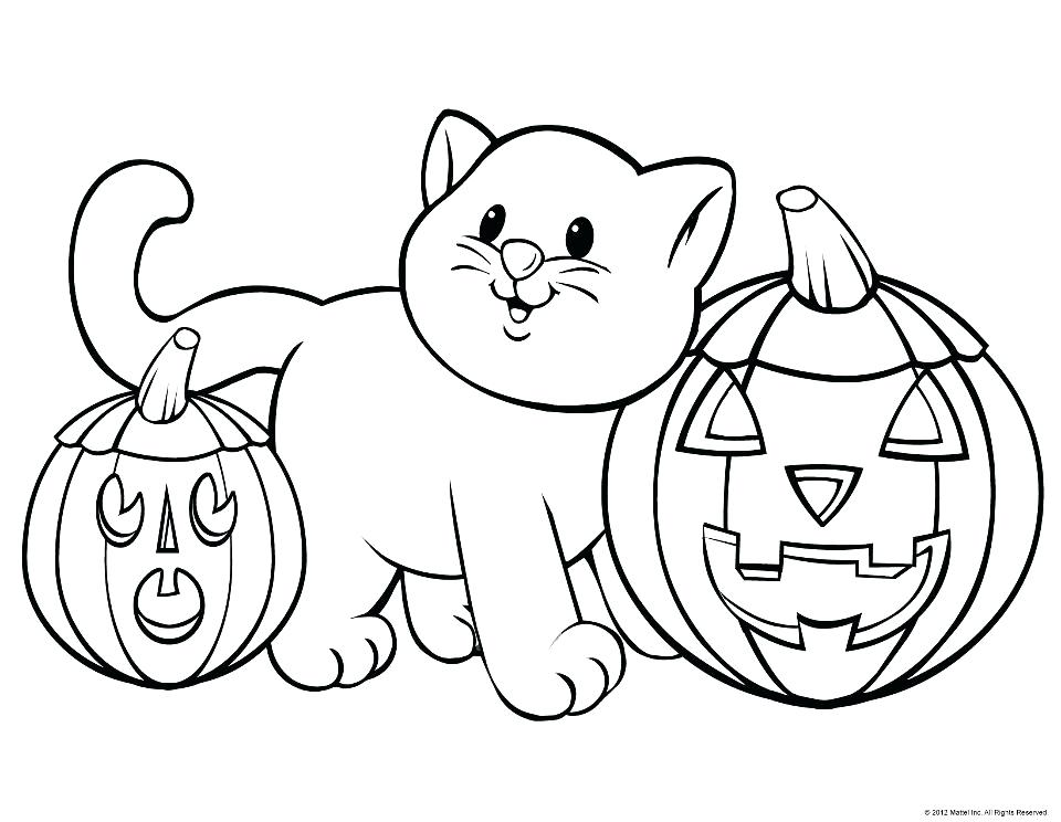 960x744 Kindergarten Halloween Coloring Pages Halloween Coloring Pages