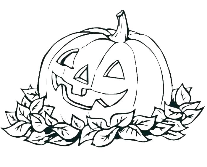 Halloween Coloring Pages For Toddlers At Getdrawings Com