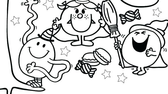 585x329 Happy Halloween Coloring Page Happy Coloring Pages Page Happy
