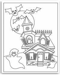 200x250 Halloween Coloring Pages Pdf