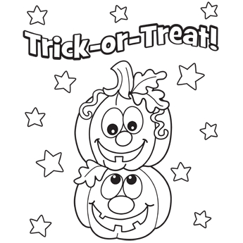 345x345 Halloween Coloring Pages Pdf Best Halloween Coloring Pages Free
