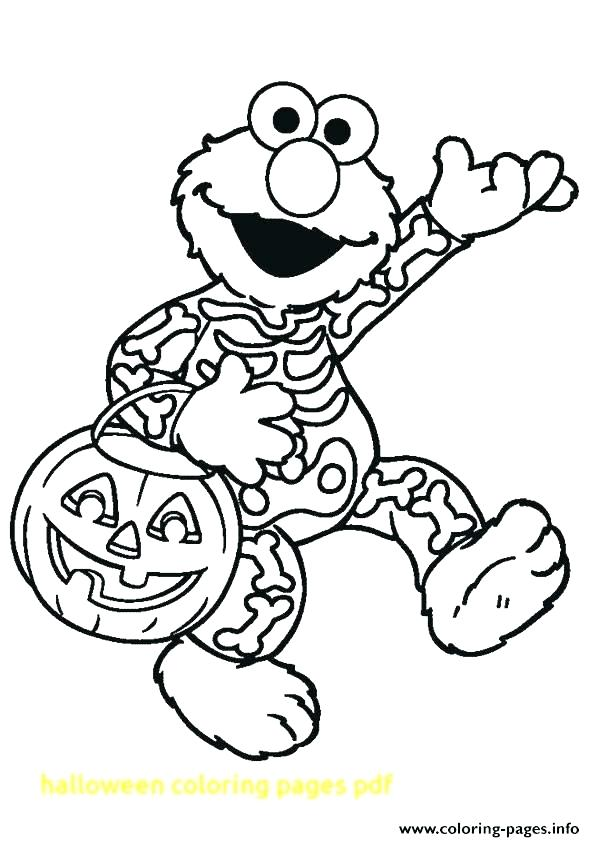 595x842 Halloween Coloring Pages Pdf Free Coloring Pages At Top Printable