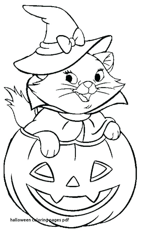 564x904 Halloween Coloring Pages Pdf The Beauty And The Beast Coloring