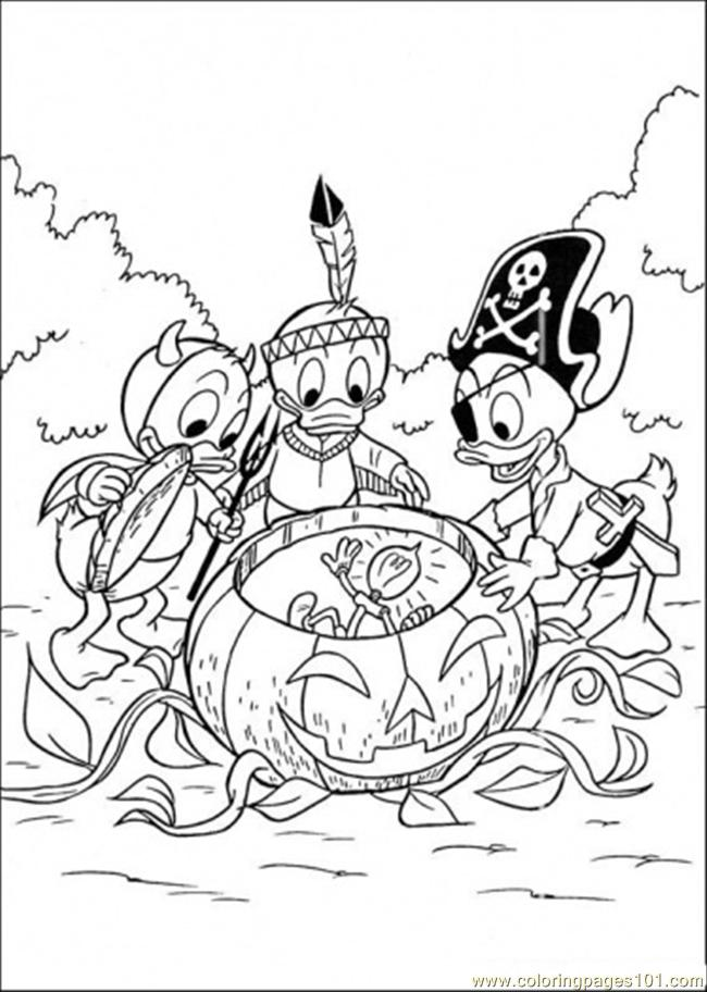 650x912 Halloween Coloring Pages Online Halloween Coloring Page Free