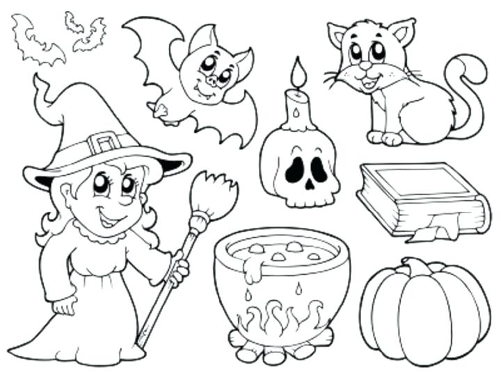 720x540 Halloween Coloring Pages Pdf Hallween Coloring Pages Fun Free