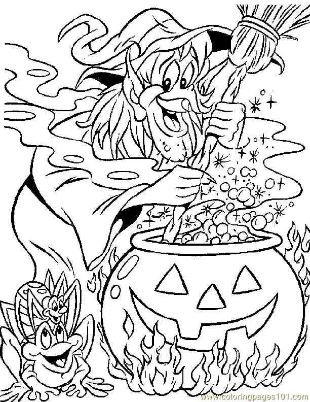 612x792 Pdf Coloring Pages Disney Halloween Coloring Pages Pdf
