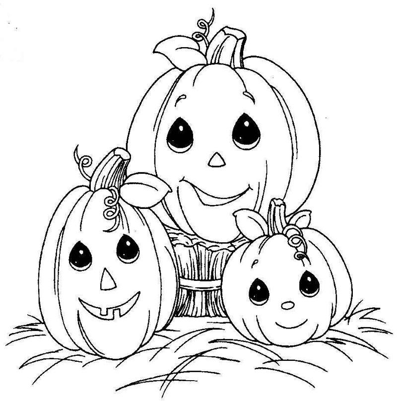 800x810 Printable Halloween Coloring Pages Pdf Printable Halloween