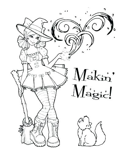 400x518 Free Halloween Coloring Pages Also Coloring Pages For Preschoolers