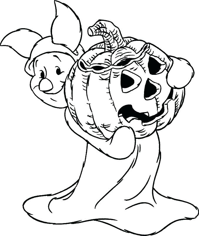 677x804 Free Halloween Coloring