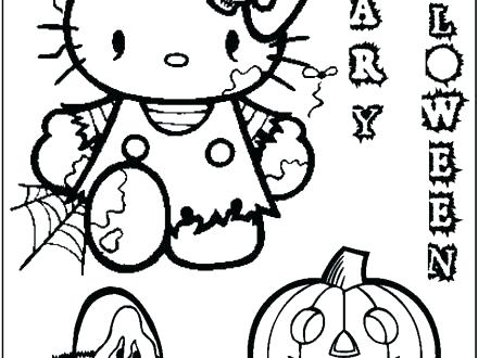 440x330 Coloring Pages Puzzles And Jokes For Kids A Scary Pumpkin For You