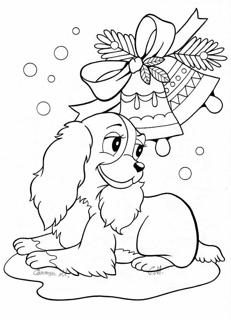 Halloween Dog Coloring Pages