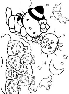 236x320 Hello Kitty Coloring Pages Juegos