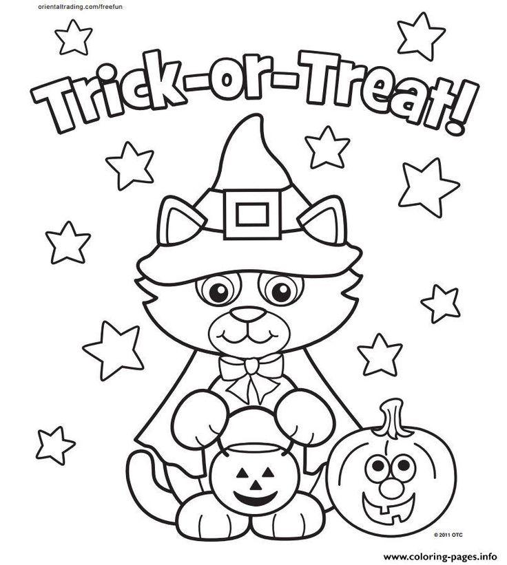 736x821 Mejores De Halloween Coloring Pages En