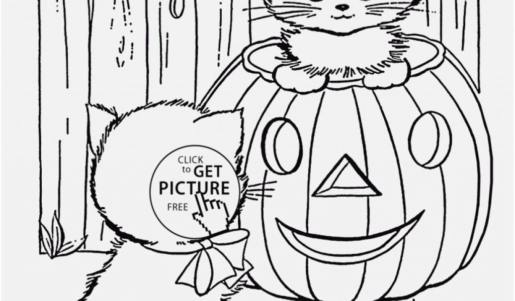 1024x600 Free Cat Coloring Pages Pics Cute Halloween Cats Coloring Pages