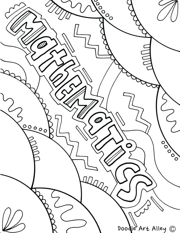 618x800 Math Coloring Pages Math Color Pages Coloring Pages For Girls