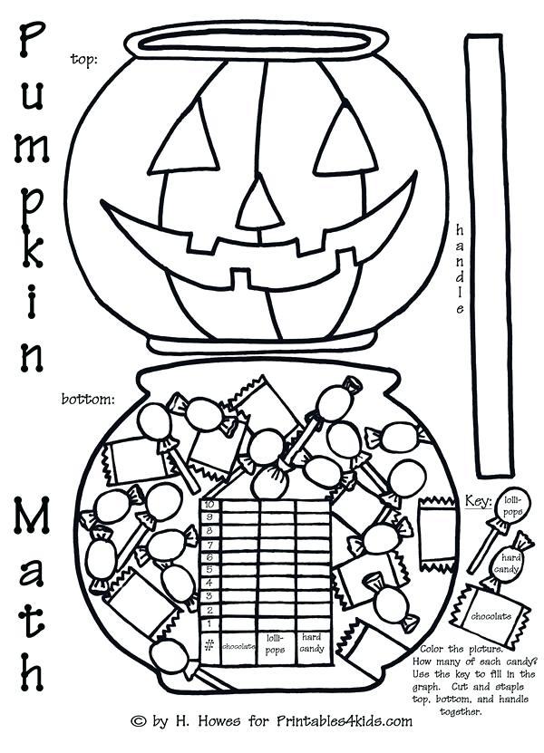 600x831 Halloween Math Coloring