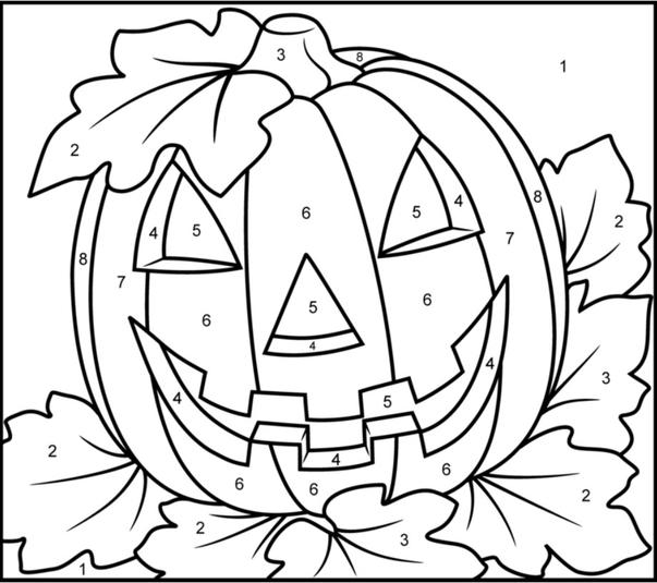 603x535 Halloween Color