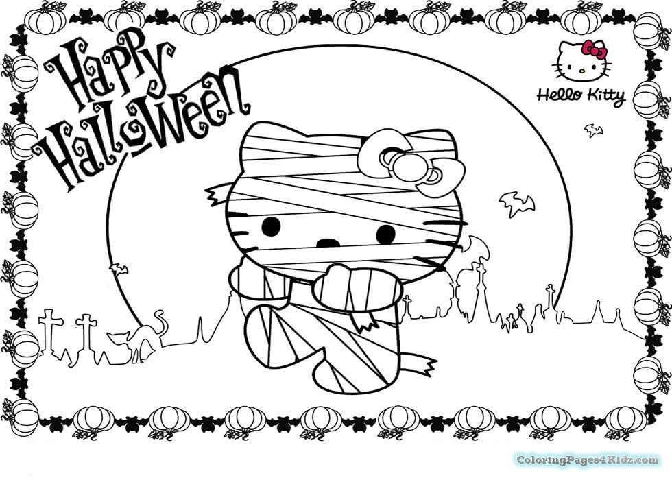 980x700 Cute Halloween Mummy Coloring Pages Coloring Pages For Kids