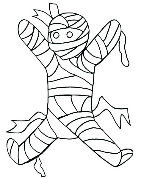 474x600 Mummy Coloring Pages Halloween Mummy Halloween Mummy Printable