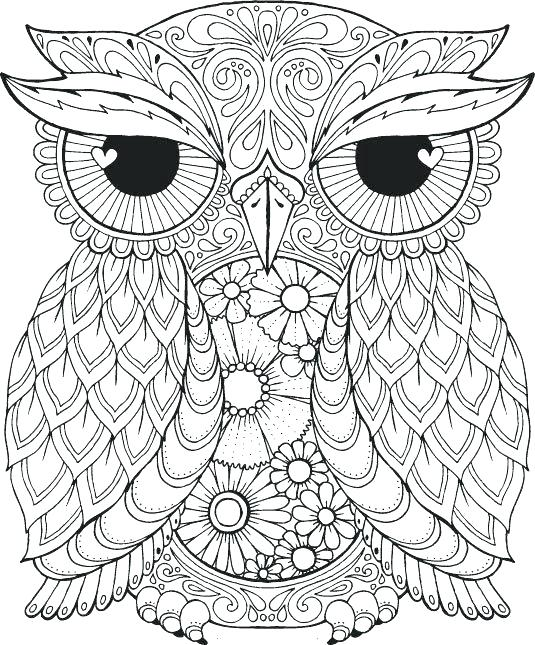 Halloween Owl Coloring Pages at GetDrawings.com | Free for personal ...