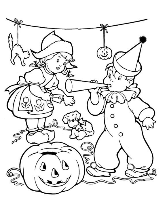 580x709 Halloween Coloring Pages Adults Printables Hallowen Coloring