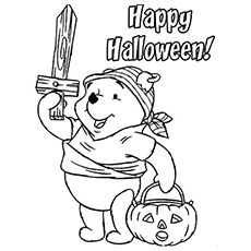 230x230 Halloween Party Coloring Page