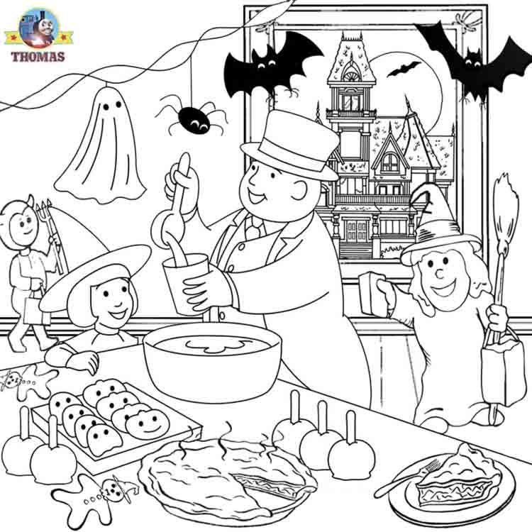 750x750 Thomas Train Halloween Worksheets For Kids Train Thomas