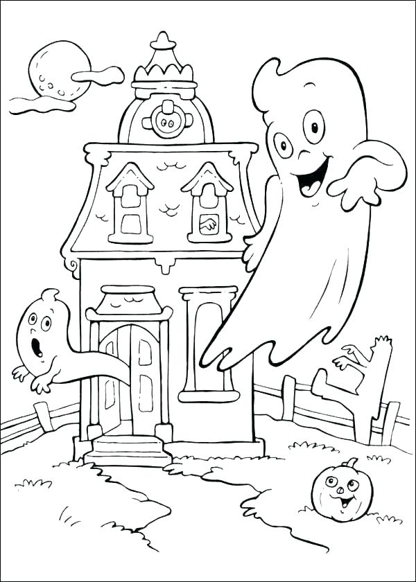 600x840 Free Halloween Coloring Pages For Kids Kids Party Coloring Pages