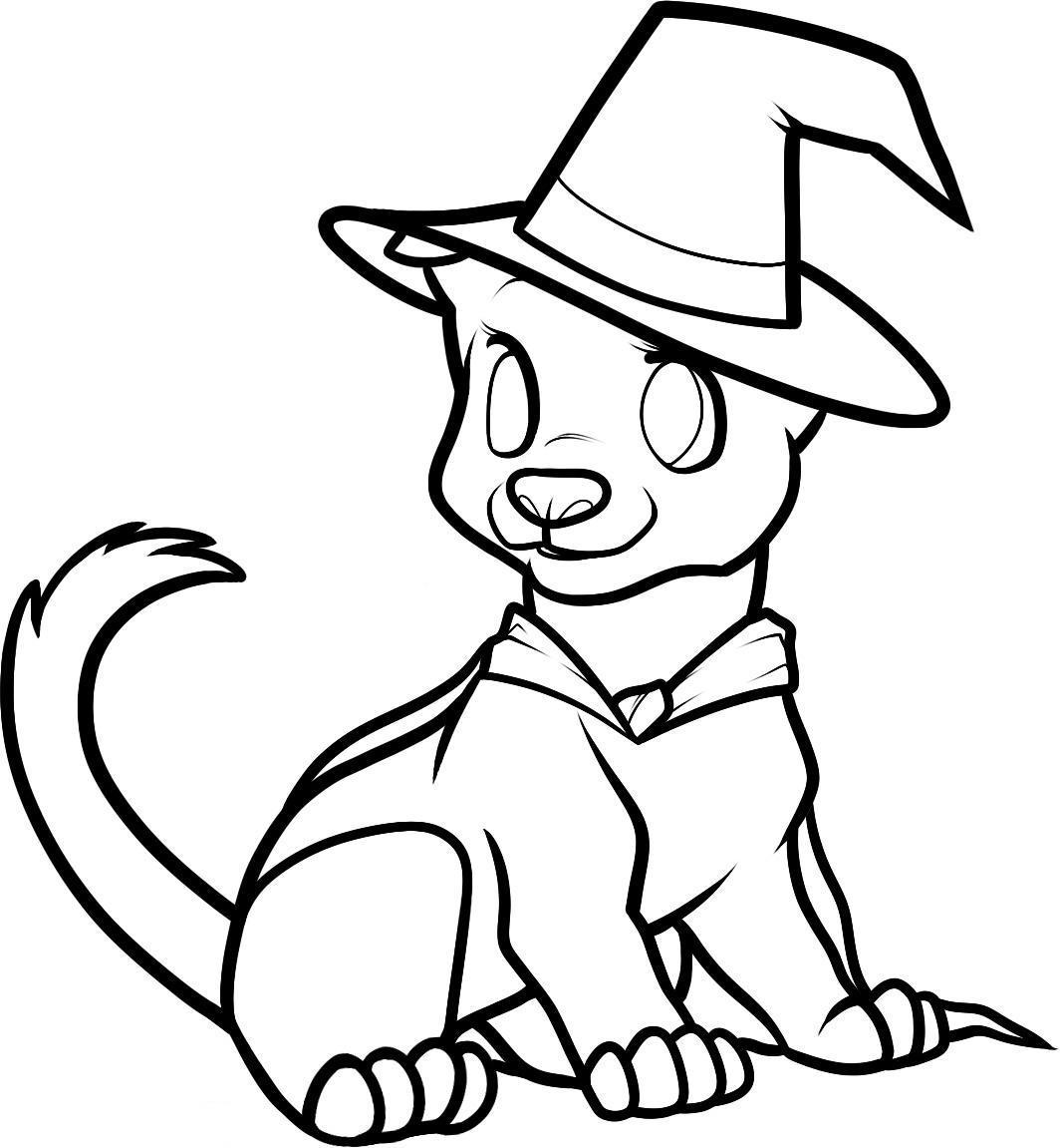 1064x1151 Free Halloween Coloring Pages Adult