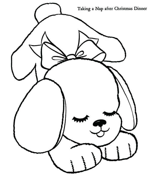 600x734 Puppy Pics To Color Puppy Color Page Puppy Coloring Pages To Print