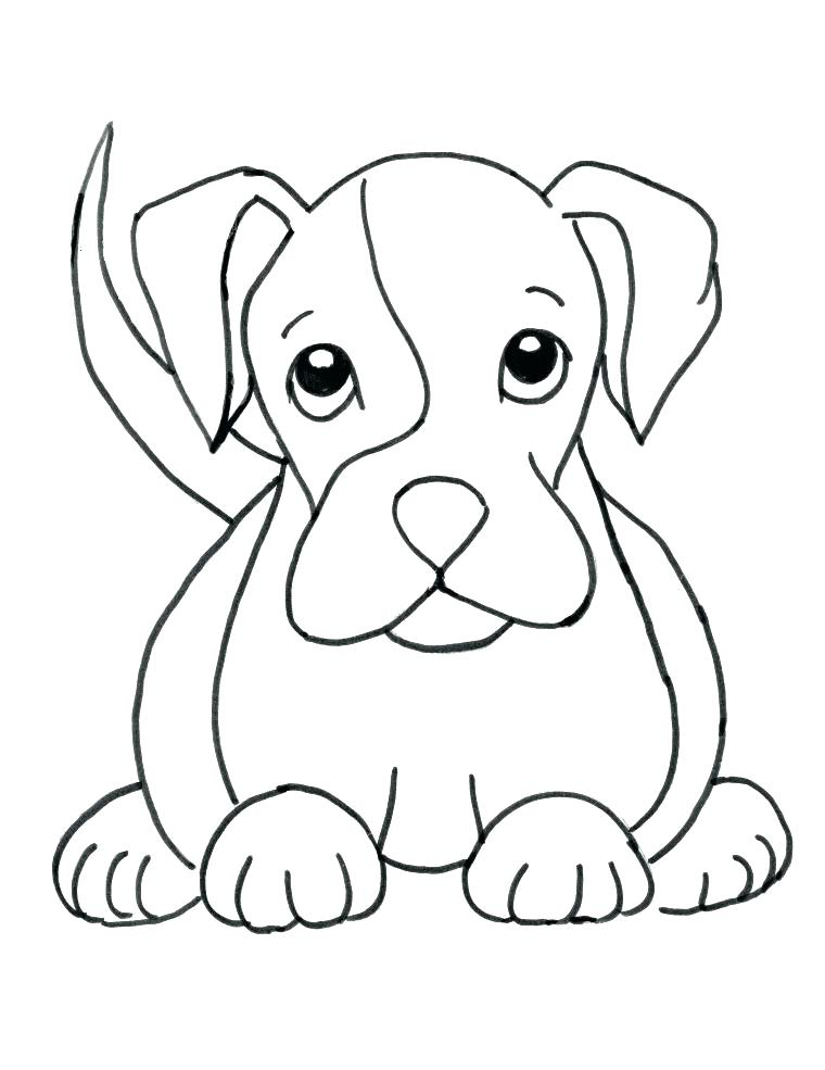 760x985 Cute Pet Coloring Pages Kids Puppy Pics To Color Colouring Free