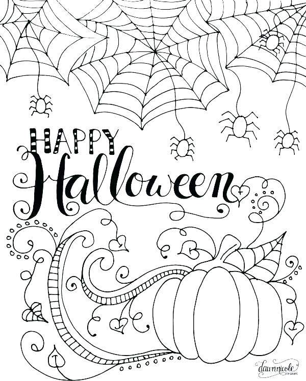 600x748 Halloween Safety Coloring Pages Coloring Printable Coloring Pages