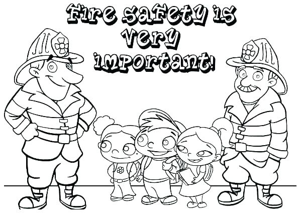 601x428 Halloween Safety Coloring Pages Printable Safety Coloring Book
