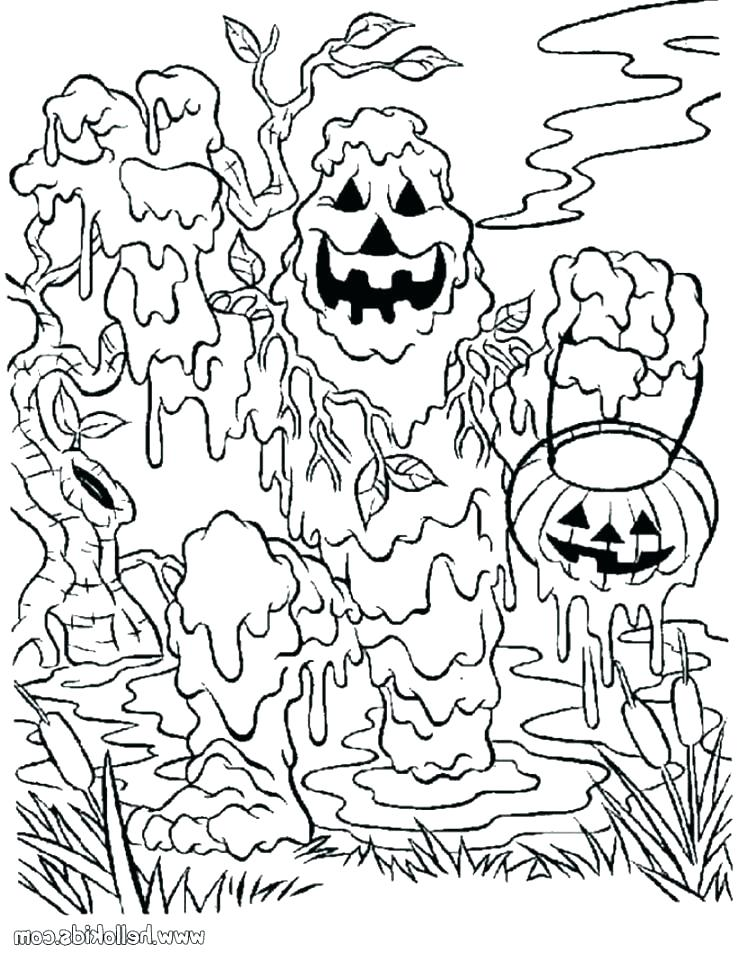 738x954 Halloween Safety Coloring Pages Street Coloring Page Halloween