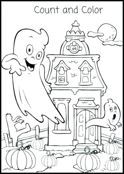 408x575 Printable Halloween Coloring Book Coloring Page Bookmarks