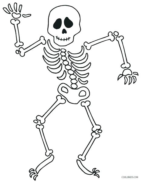 468x600 Halloween Skeleton Coloring Pages Skeleton Coloring Sheet Skeleton