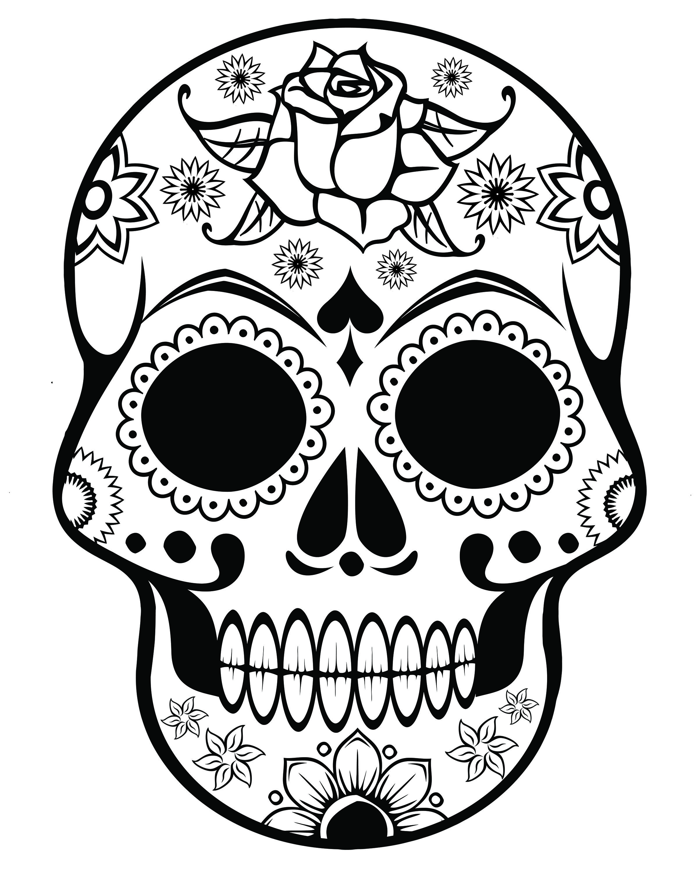 2400x3000 Free Printable Halloween Coloring Pages For Adults